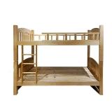 理邦1.2米实木双层床学校员工宿舍高低床(需上铺配1.1米床垫下铺配1.2米床垫)