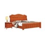 沃盛 cp0181实木床1.8 米现代中式卧室婚床双人床