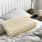 大朴(DAPU)枕芯家纺 A类枕头 斯里兰卡进口天然乳胶枕芯 大颗粒乳胶枕 护颈枕头 波浪颗粒
