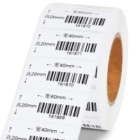 GODEX条码打印机专用卷纸(单排)