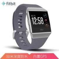 Fitbit Ionic智能手表 健身防水 蓝牙可通话 自动锻炼识别 GPS全球定位音乐存储 来电短信提醒 蓝色