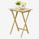 慧乐家 餐桌 简约折叠桌 多功能桌学习桌  白枫木色 12081-2