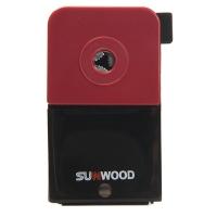 三木(SUNWOOD) 5138B 商务削铅笔机/削笔机/削笔器/卷笔刀 红色