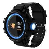魔派MOONPI 智能手表GW68 学生户外防水运动手环 成人心率监测电子表 彩屏触控 间蓝色