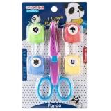 廣博(GuangBo)手工套裝 兒童玩具(壓花器+花邊剪刀) 顏色隨機HZM03855