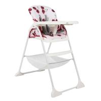 巧儿宜(JOIE)儿童餐椅 Mimzy梦奇轻便型宝宝餐椅 H1127AACHR170 樱桃