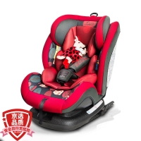 贝贝卡西 汽车儿童安全座椅车载宝宝座椅汽车用0-4-7-12岁isofix硬接口安全坐椅 Q5静谧丛林