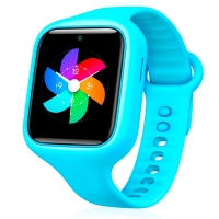 小米(MI)米兔儿童电话手表2 学生运动手环 双向通话 GPS定位 防水防丢 亲肤表带 护眼LED屏幕 王子款