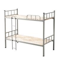 奈高钢制双层床宿舍上下铺员工高低铁床铺公寓铁架子床学生双人床含床板
