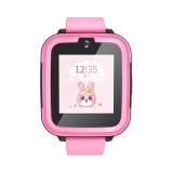 搜狗糖貓(teemo)兒童智能電話手表joy 4G智能問答 粉色 高清通話拍照GPS定位防丟防水學生手機 女孩