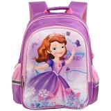 迪士尼(Disney)BP6347B 苏菲亚小学生书包女/减负透气1-3年级紫色
