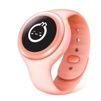 小米(MI)米兔儿童电话手表2C 粉橙色 儿童手机 儿童手环 学生手机 安全定位 高清通话