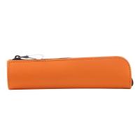 国誉(KOKUYO)日本进口学生办公便携收纳笔袋WILL STATIONERY ACTIC迷你型 橙 F-WBF116YR