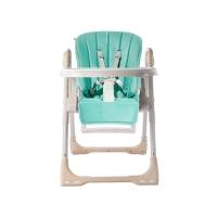 babycare儿童餐椅多功能便携式可折叠宝宝餐椅 8500绿色