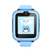 搜狗糖貓(teemo)兒童智能電話手表Joy 4G暢速版 藍色 高清通話拍照GPS定位防丟防水學生手機 男孩