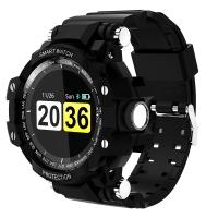 魔派MOONPI 智能手表GW68 学生户外防水运动手环 成人心率监测电子表 彩屏触控 深空黑