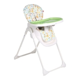 gb好孩子儿童餐椅 多功能可折叠便携婴儿餐椅宝宝餐椅(7个月-36个月)绿色Y6800-H001B