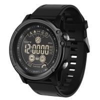 魔派MOONPI 蓝牙智能手表EX26 男女成人运动电子手表多功能睡眠计步防水手环来电短信提醒腕表 澎湃黑
