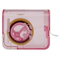 日本樱花(SAKURA)胶带盒透明胶玻璃胶 带切割器(粉色) 小学生文具系列 【日本进口】