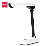 得力(deli)4310 多角度照明调节 儿童桌面台灯 适用工作学习(白色)