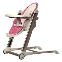 babycare儿童餐椅 便携式可折叠婴儿餐椅多功能宝宝餐椅 8900菲力红