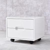 A家家具 床头柜 北欧卧室现代简约家具 床边储物柜 DA0201
