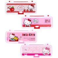 廣博(GuangBo)凱蒂貓筆盒 雙層文具盒 單個裝款式隨機KT85054