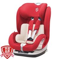 宝贝第一(Babyfirst)汽车儿童安全座椅 约9个月-12岁 ISOFIX接口 3C认证 铠甲舰队尊享版 经典红