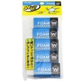 日本樱花(SAKURA)橡皮擦学生考试美术绘图 RFW100-5P 5块套装【日本进口】
