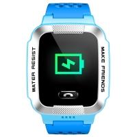 小天才儿童电话手表Y01A超长待机360度防水GPS定位智能手表 移动2G学生儿童手表手机 男女孩浅蓝
