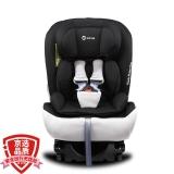 路途乐(Lutule) 汽车儿童安全座椅 isofix双接口 3C/ECE 坐躺可调适合0-12岁宝宝座椅 Airs系列 酷酷黑