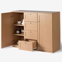 好事达储物柜 带抽收纳柜 客厅厨房餐厅碗柜0059-2