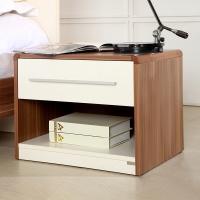 A家家具 床头柜 现代简约板木床头柜 床边储物柜 A032