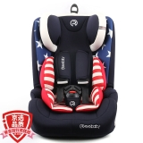 瑞贝乐reebaby儿童安全座椅宝宝婴儿汽车用坐椅9个月-12岁车载 REEBABY安全座椅 美国队长