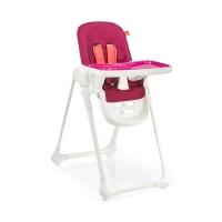 gb好孩子儿童餐椅 多功能可折叠便携婴儿餐椅可坐可躺宝宝餐椅(7个月-36个月)樱桃红Y5900-J002R