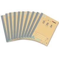 凯萨(KAISA)田格本生字本学生作业本20张36K(125×175mm)加厚纸 10本装 KSP-0012