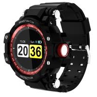 魔派MOONPI 智能手表GW68 学生户外防水运动手环 成人心率监测电子表 彩屏触控 间红色