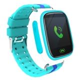 智力快车Z5 儿童电话手表 360度培养小天才智能定位手表电话 学生智能手表手机 蓝色