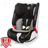 宝贝第一Babyfirst 宝宝汽车儿童安全座椅 isofix接口 海王盾舰队(紫金黑)9个月-12岁