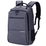 维多利亚旅行者 VICTORIATOURIST 双肩包电脑包15.6英寸 男商务防泼水双肩背包V9006灰色