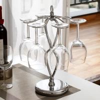 欧润哲 杯架 6杯加厚加重底座置物沥水架红酒杯挂架收纳架  家用厨房饭厅餐厅橱柜杯具架