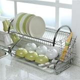 歐潤哲 碗碟架 22寸加大版廚房餐具瀝水刀碗筷杯子架