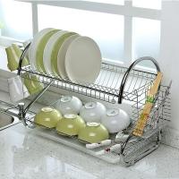 欧润哲 碗碟架 厨房置物架餐具沥水架收纳架刀碗筷杯子架 22寸加大版