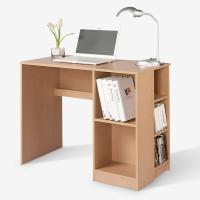 好事达电脑桌 书桌书柜二合一 实用书桌办公桌 简约学习桌写字台1253
