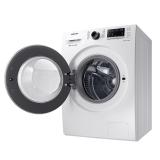 三星(SAMSUNG)8公斤烘洗一體變頻全自動滾筒洗衣機 DD智能變頻 清新除菌 節能靜音WD80M4473JW/SC(白)