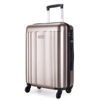 外交官(Diplomat)磨砂箱子登機箱拉桿箱萬向輪行李箱男女旅行箱密碼箱TC-15172TT 20英寸 米色