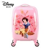Disney 迪士尼兒童拉桿箱女行李箱萬向輪登機箱可愛卡通小孩旅行箱 白雪公主 20英寸 粉色 DSGZ-1708-0001-3