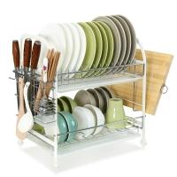 宝优妮碗架沥水架刀架筷子筒碗筷收纳架厨房置物架锅架碗碟架厨房用品DQ1520-3