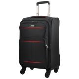 汉客(HANKE)H8662 黑配红28英寸耐磨万向轮拉杆箱行李箱旅行箱子配密码锁
