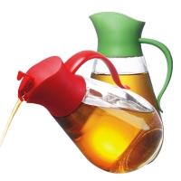 SIMELO(施美乐)自开启玻璃调料瓶油壶两个特惠装